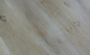 high quality wire brushed white oak flooring