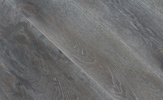 wire brushed floors