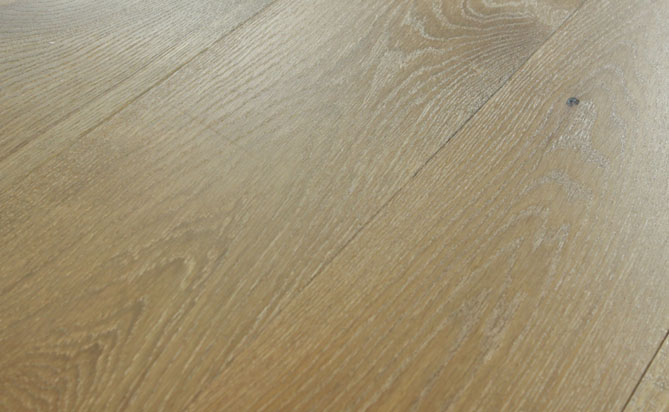 3 layer brushed wood flooring