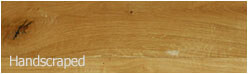 handscraped engineered oak wood floor