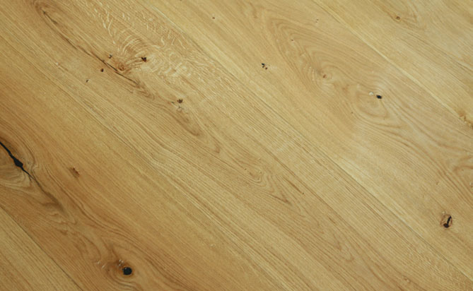 handscraped french oak floor