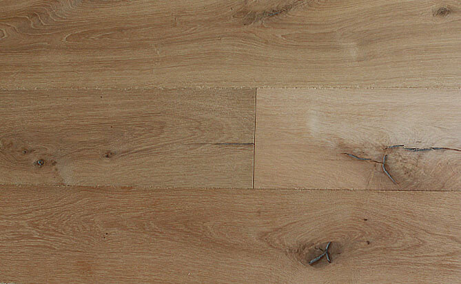 exceptionally wide-plank wood floors