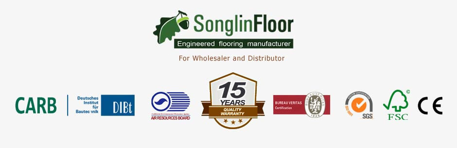 15 years warranty and certificates-songlinfloor