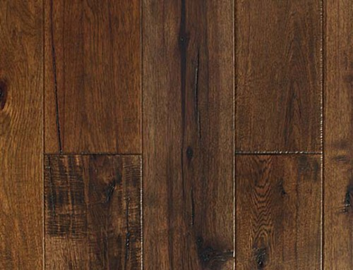 Hand Scraped Hickory Flooring VH05