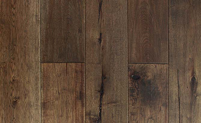 floating hickory plank flooring