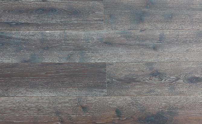 rustic wide plank hickory flooring VH08