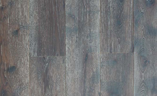 3 layer eco wide plank hickory flooring