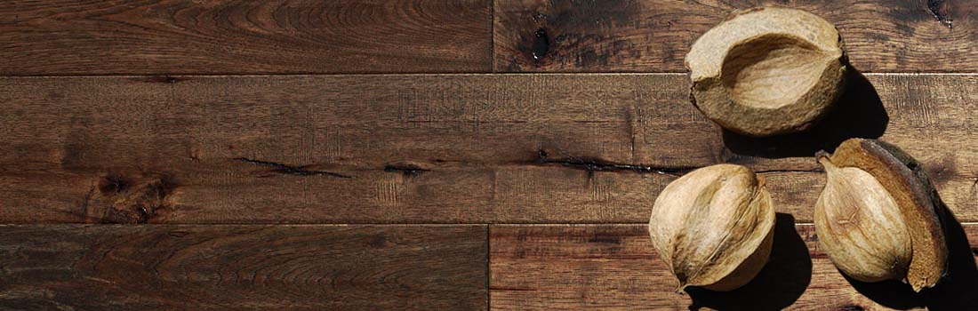 rustic natural hickory hardwood flooring