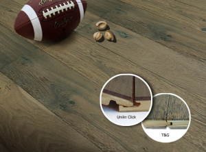 hickory wood floor-click and T&G