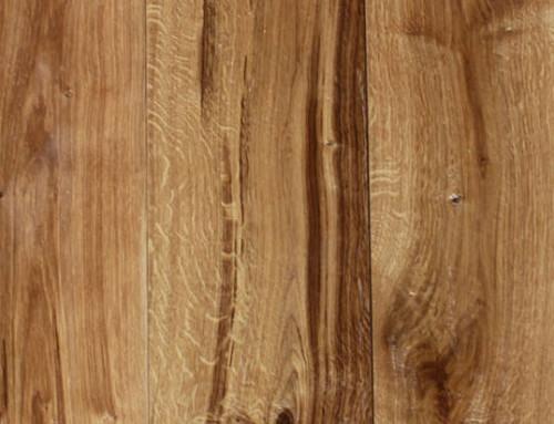 Hand Scraped White Oak Hardwood Floors K072-3
