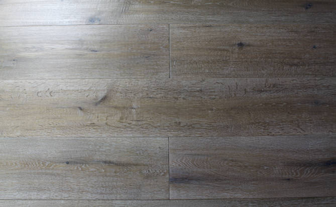 antique oak hand scraped engineered flooring