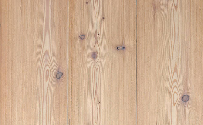 brushed larch planks wood flooring