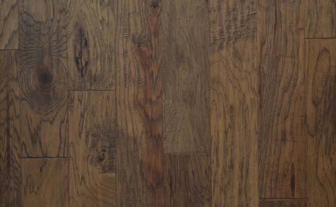 "Finest Quality 3/4"" Solid Hickory Flooring"
