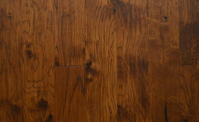 "3/4"" x 4"" antique solid hickory flooring"
