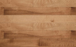 """7/10"""" stained solid birch flooring"""