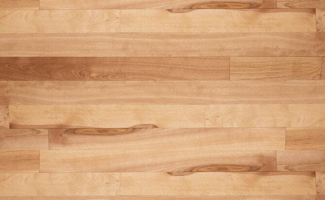 UV Lacquered birch wood flooring