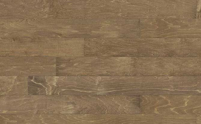 Chinese Maple UV Lacquered Solid Wood Flooring