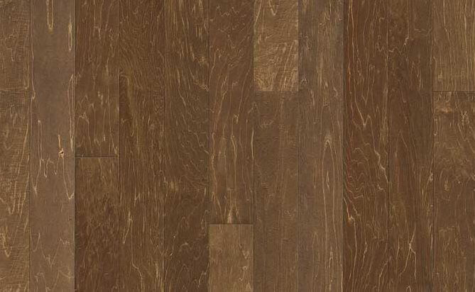 Chinese Maple stained solid flooring