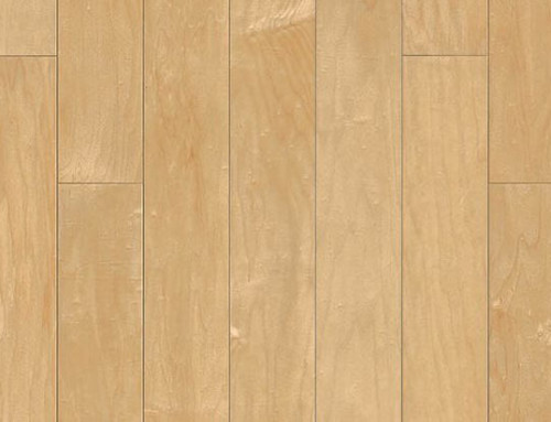 UV Lacquered Chinese Maple Wood Floor MP008