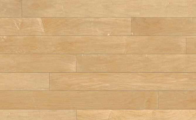 UV lacquered chinese maple wood floor