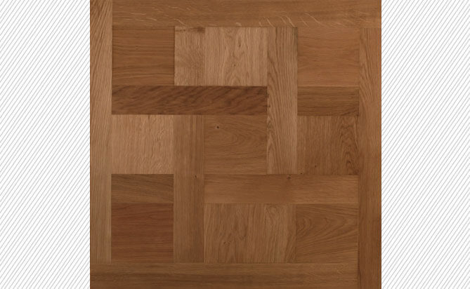 Natural European Oak Versailles Parquet