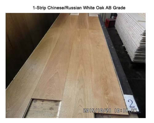 AB grade white oak wood flooring