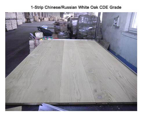 1-Strip White Oak CDE Grade