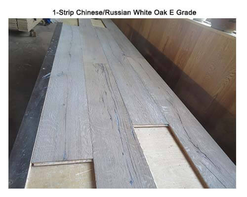 1-Strip White Oak E Grade