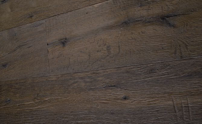Natural Driftwood Plank Floor