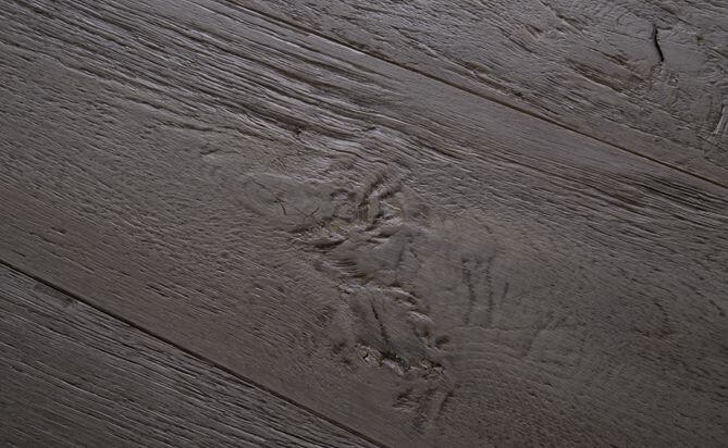 Oak Driftwood Wire Brushed Engineered Hardwood Flooring