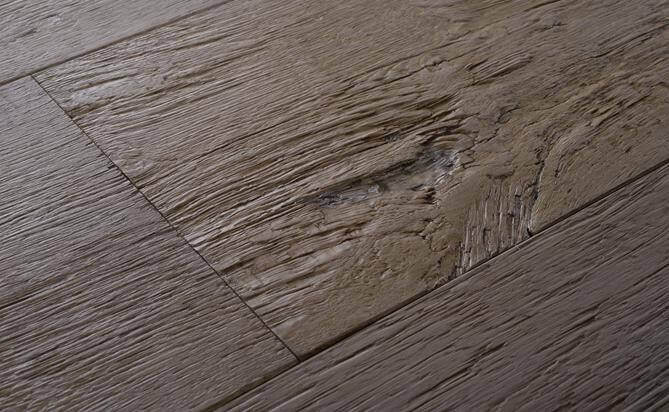 rustic engineered axe-wood flooring