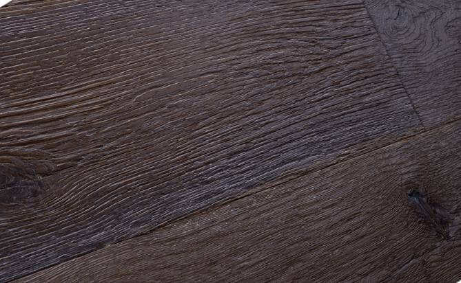 aging wide plank engineered oak flooring