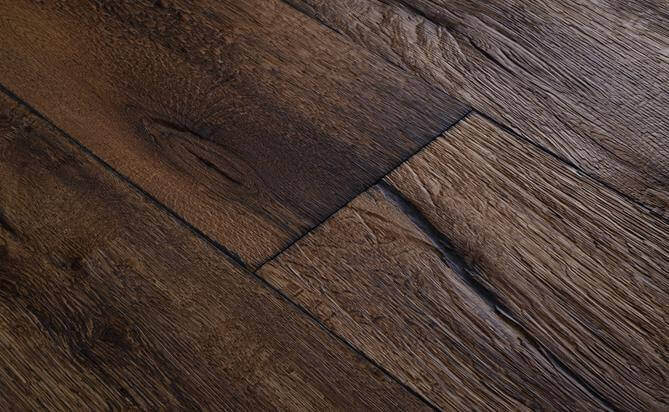 engineered oak Axe Split flooring