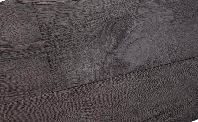 UV oiled engineered axe split flooring