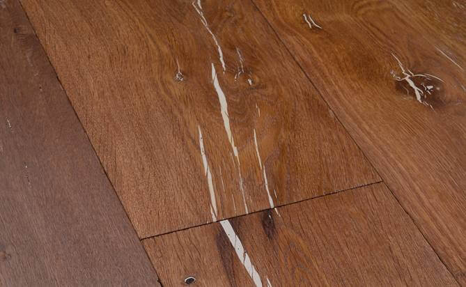 artistic rustic engineered oak flooring