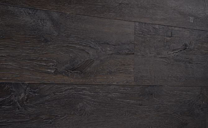 dark Driftwood wide plank wood floor