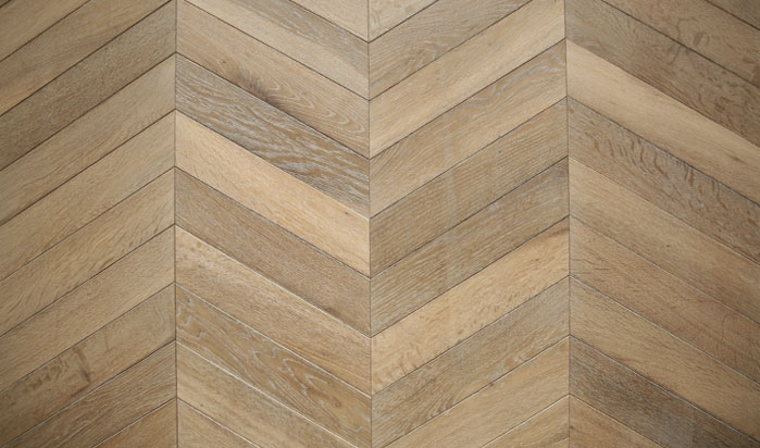 Chevron Pattern Floor
