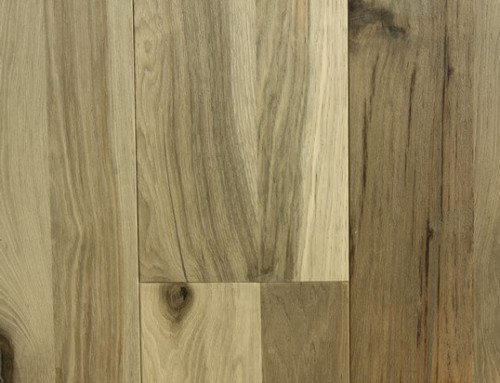 2 Strip Brushed Engineered Hickory Floors KM008