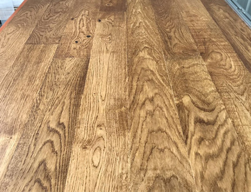 Primitive Stained Wood Flooring Solid