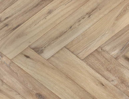 120mm Solid Herringbone Parquet Oak Wood Flooring
