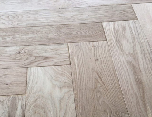 120mm Oak Solid Herringbone Parquet UV Oiled Flooring