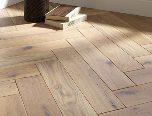 120mm Solid Fishbone Natural Oiled Oak Flooring
