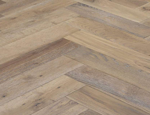 120mm Solid Fishbone White Oak Wood Flooring