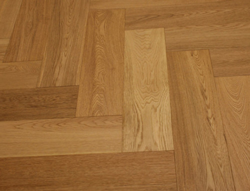 120mm Solid Fishbone Wood Flooring