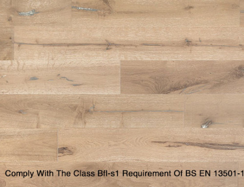 Flame Retarding Oak Wood Flooring