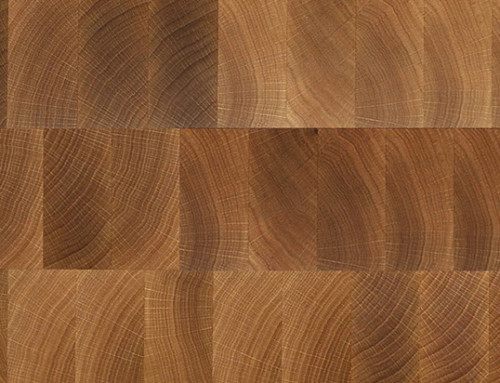 End Grain Oak Solid Wood Flooring