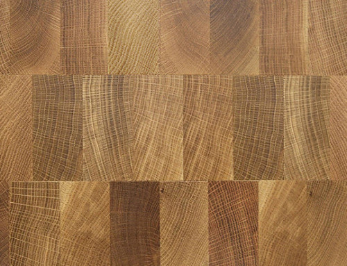End Grain Solid Wood Parquet Flooring