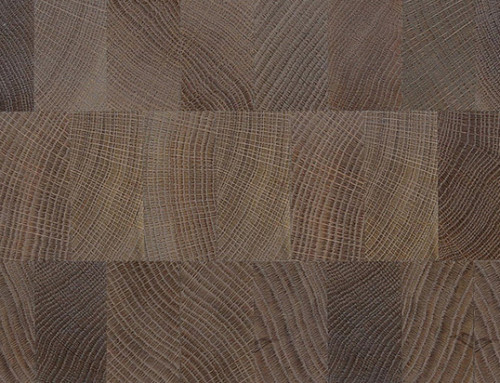 Solid End Grain Wall Panel Wood Flooring White Oak