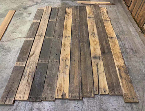 Oak Pallets Flooring And Wall Panels