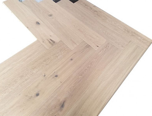 Herringbone Engineered European Oak